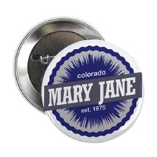 "Mary Jane 2.25"" Button"