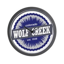 Wolf Creek Wall Clock