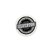 Silverton Ski Resort Colorado Black Mini Button