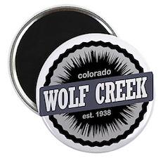 Wolf Creek Ski Resort Colorado Black Magnet