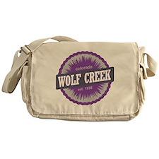 Wolf Creek Ski Resort Colorado Purpl Messenger Bag