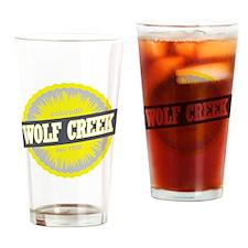 Wolf Creek Ski Resort Colorado Yell Drinking Glass