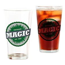 Magic Mountain Ski Resort Vermont D Drinking Glass