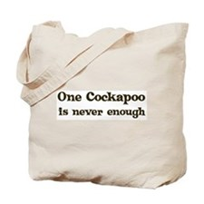 One Cockapoo Tote Bag