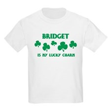 Bridget is my lucky charm Kids T-Shirt