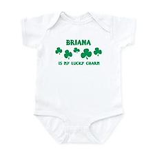 Briana is my lucky charm Infant Bodysuit