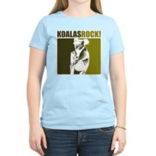 Koalas Rock! Women's Pink T-Shirt