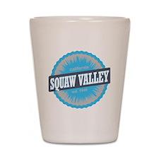 Squaw Valley Ski Resort California Sky  Shot Glass