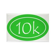 Lime 10k Oval Rectangle Magnet
