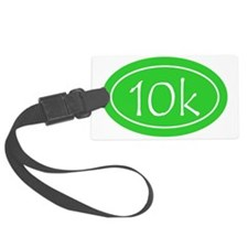 Lime 10k Oval Luggage Tag