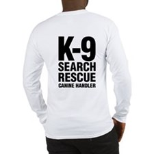 K-9 SAR Working Long Sleeve T-Shirt