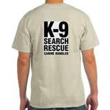 K-9 Search & Rescue SAR Working T-Shirt