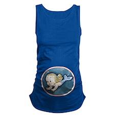 mermaid-womb-blnd-T.png Maternity Tank Top