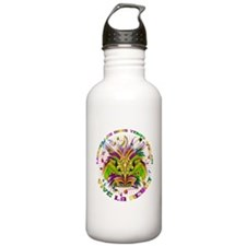 Mardi Gras Queen 4 Water Bottle
