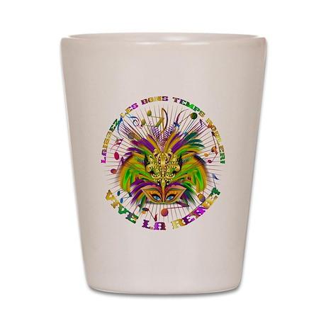 Mardi Gras Queen 4 Shot Glass