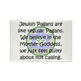 Jewish Pagans Rectangle Magnet