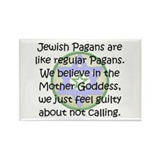 Jewish Pagans Rectangle Magnet