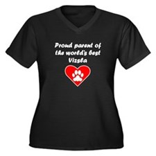 Vizsla Parent Plus Size T-Shirt