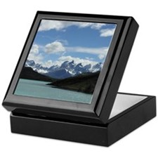 Patagonian Mountainscape - Keepsake Box