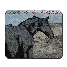 Love is a Rescue Mousepad