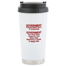 Cannot Grant You A Thing Ceramic Travel Mug