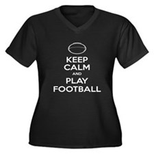 Keep Calm and Play Football - Ball 2 Women's Plus