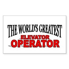 """The World's Greatest Elevator Operator"" Decal"