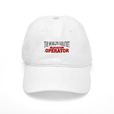 """The World's Greatest Elevator Operator"" Baseball Cap"