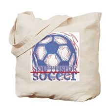 Southside Soccer Ball Tote Bag