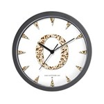 Tortoise Shell 0 Wall Clock