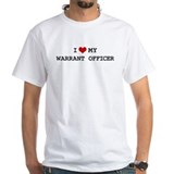 I Love My Warrant Officer Shirt