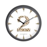 Tortoise Shell 2 Wall Clock