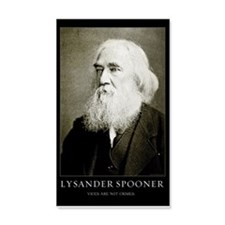 Lysander Spooner Vices Wall Decal