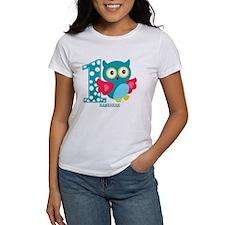 Cute First Birthday Owl Tee
