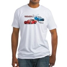 Mustang Burnout Trimmed.jpg T-Shirt