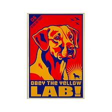 Yellow LAB! Propaganda Magnets (10 pack)