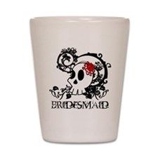 Skull Bridesmaid Shot Glass