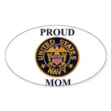 USN MOM Oval Decal