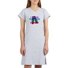 I Wear The Pants In The Family Women's Nightshirt