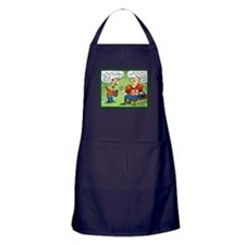 Fantasy Football Cartoon Apron (dark)
