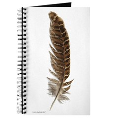 Pheasant Feather Journal 1