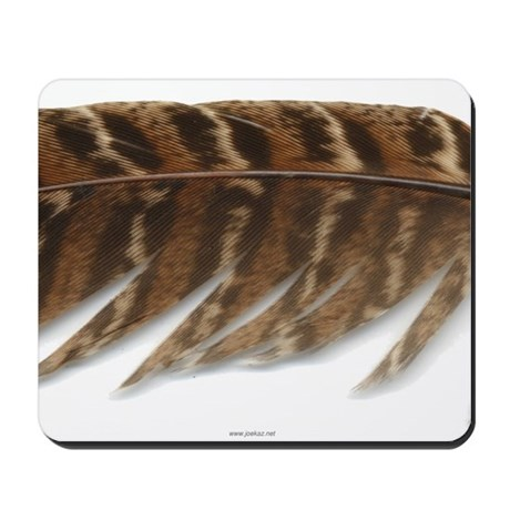 Pheasant Feather Mousepad 3