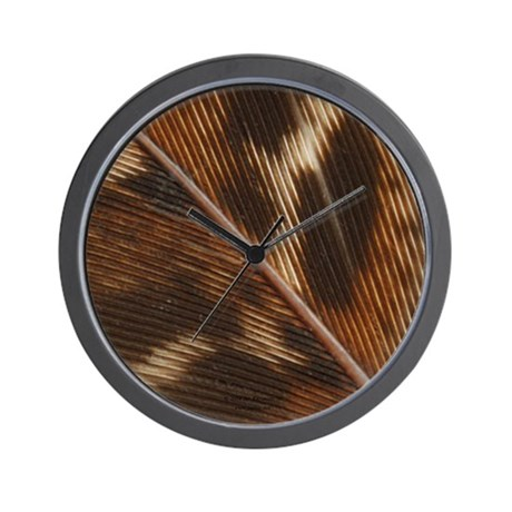 Pheasant Feather Wall Clock 3