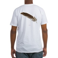 Pheasant Feather Fitted T-Shirt
