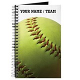 Softball Journals & Spiral Notebooks