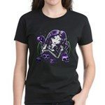 Goth - Emo - Devil Skull Women's Dark T-Shirt