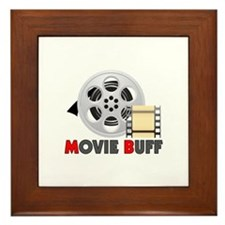 I'm A Movie Buff Framed Tile