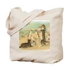 Beach Kittens Tote Bag