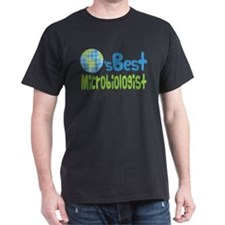 Earths Best Microbiologist T-Shirt