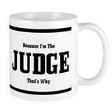 Judge Small Mug